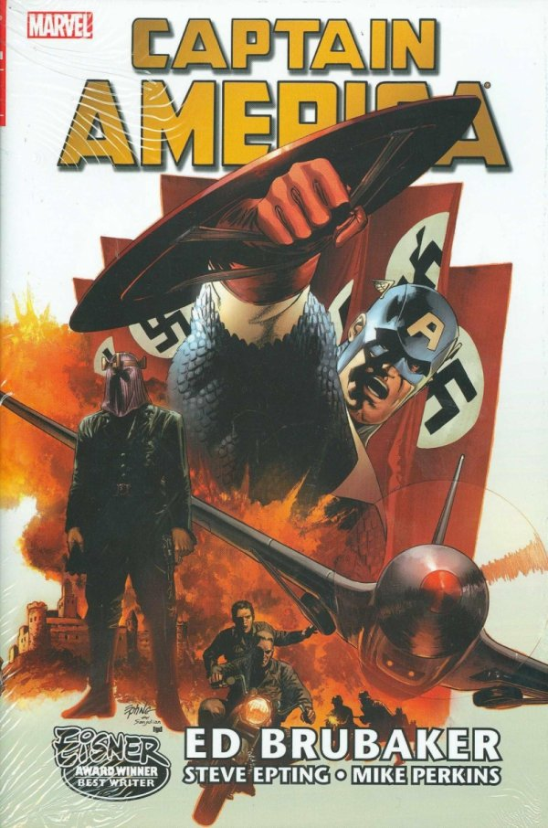 CAPTAIN AMERICA BY ED BRUBAKER OMNIBUS VOL 01 HC (OLD EDITION) (VARIANT COVER) *
