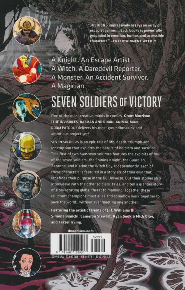 SEVEN SOLDIERS OF VICTORY VOL 01 SC (NEW EDITION)