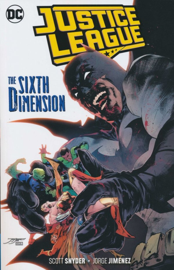 JUSTICE LEAGUE THE SIXTH DIMENSION SC **