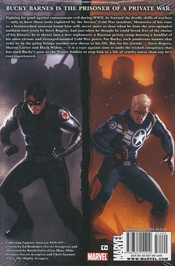 CAPTAIN AMERICA PRISONER OF WAR HC *