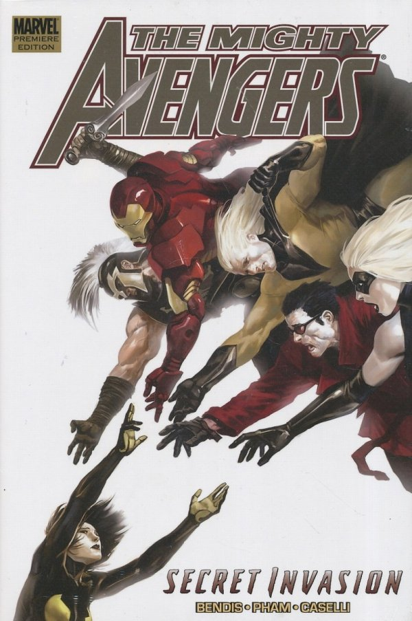 MIGHTY AVENGERS VOL 04 SECRET INVASION BOOK 2 HC