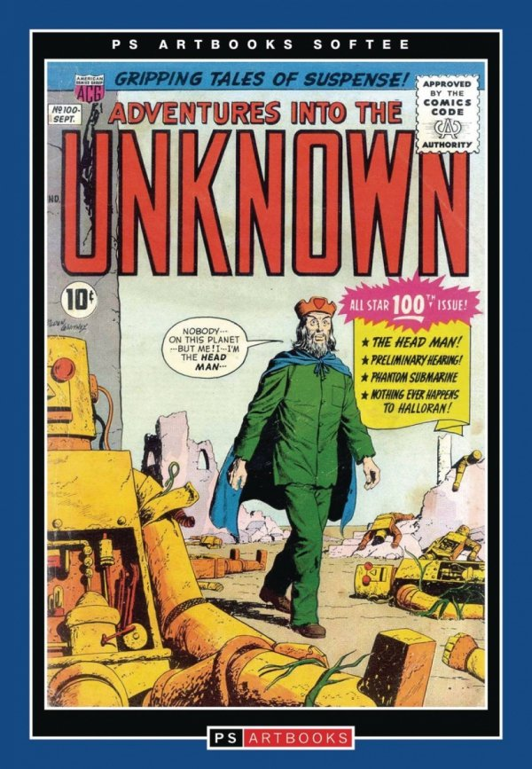 ACG COLL WORKS ADV INTO UNKNOWN SOFTEE VOL 17