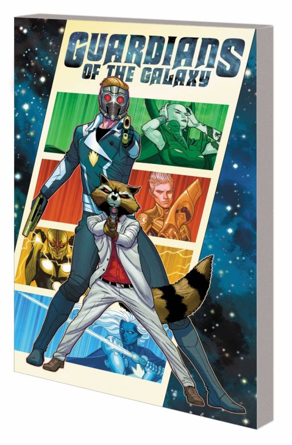 GUARDIANS OF THE GALAXY BY EWING VOL 01 THEN ITS ON US SC *