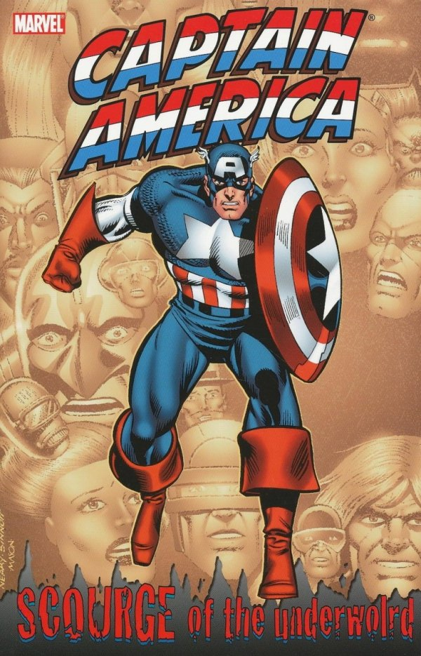 CAPTAIN AMERICA SCOURGE OF THE UNDERWOLD SC