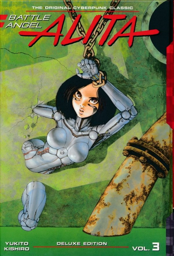 BATTLE ANGEL ALITA DELUXE EDITION VOL 03 HC