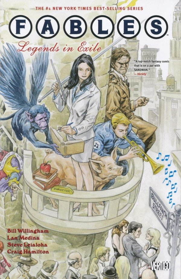 FABLES VOL 01 LEGENDS IN EXILE SC (2012 EDITION)