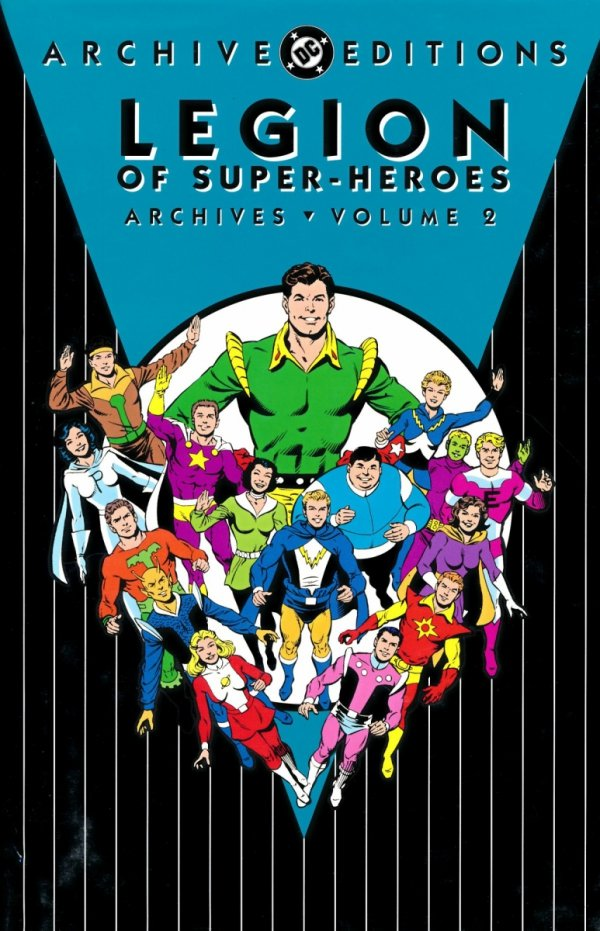 LEGION OF SUPER-HEROES ARCHIVES VOL 02 HC