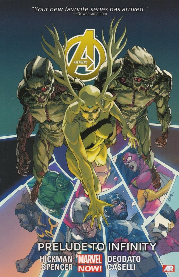 AVENGERS VOL 03 PRELUDE TO INFINITY SC