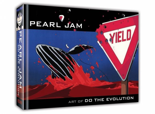 PEARL JAM ART OF DO THE EVOLUTION HC *
