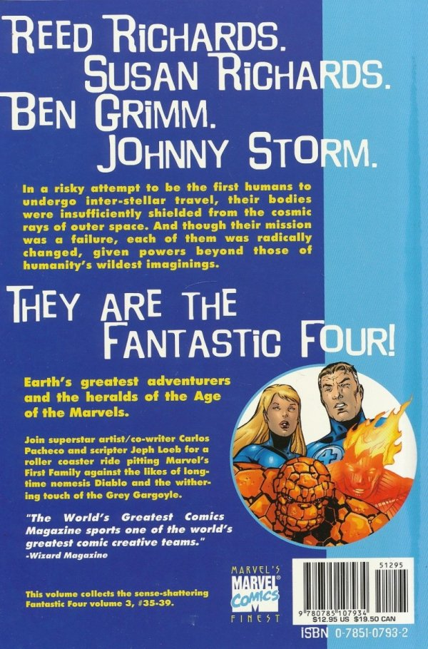 FANTASTIC FOUR FLESH AND STONE SC