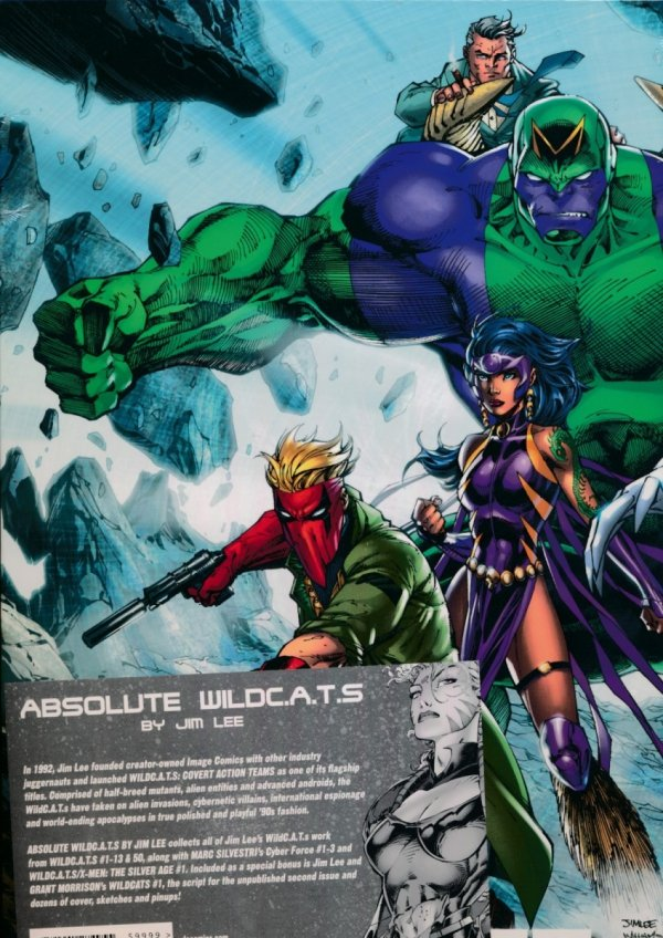 ABSOLUTE WILDCATS BY JIM LEE HC (BOX)