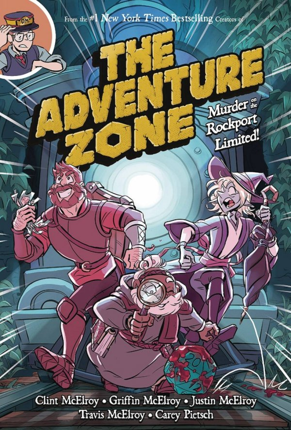 ADVENTURE ZONE GN VOL 02 MURDER ON ROCKPORT LIMITED *
