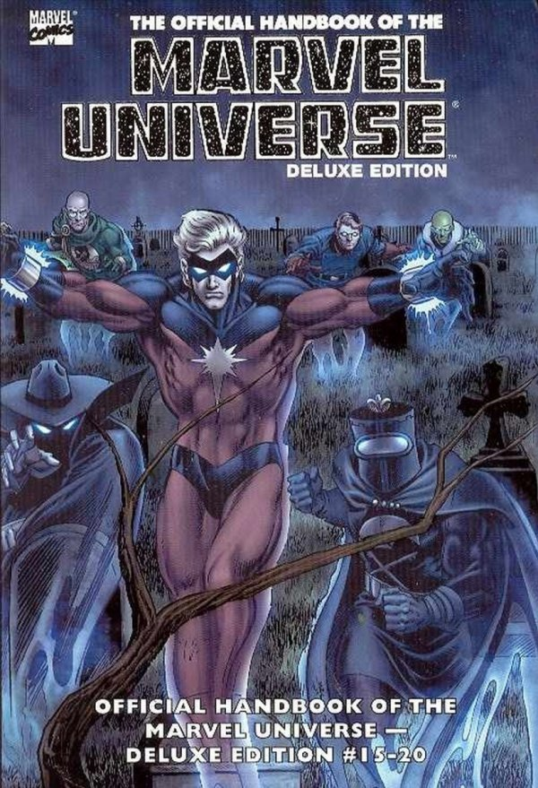 ESSENTIAL THE OFFICIAL HANDBOOK OF THE MARVEL UNIVERSE DELUXE EDITION VOL 03 SC *
