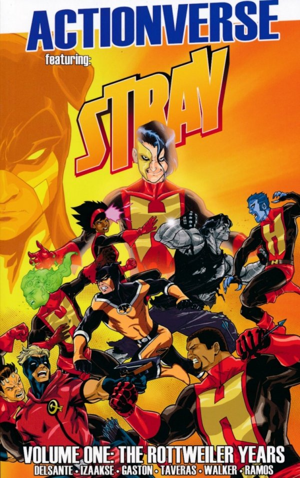 ACTIONVERSE STRAY VOL 01 THE ROTTWEILER YEARS SC