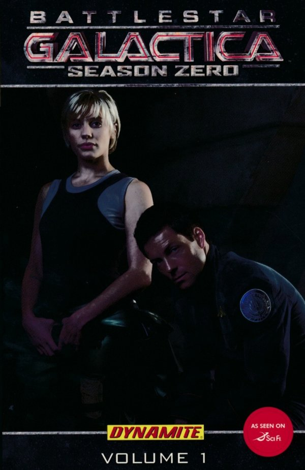 BATTLESTAR GALACTICA SEASON ZERO TP VOL 01 PHOTO CVR