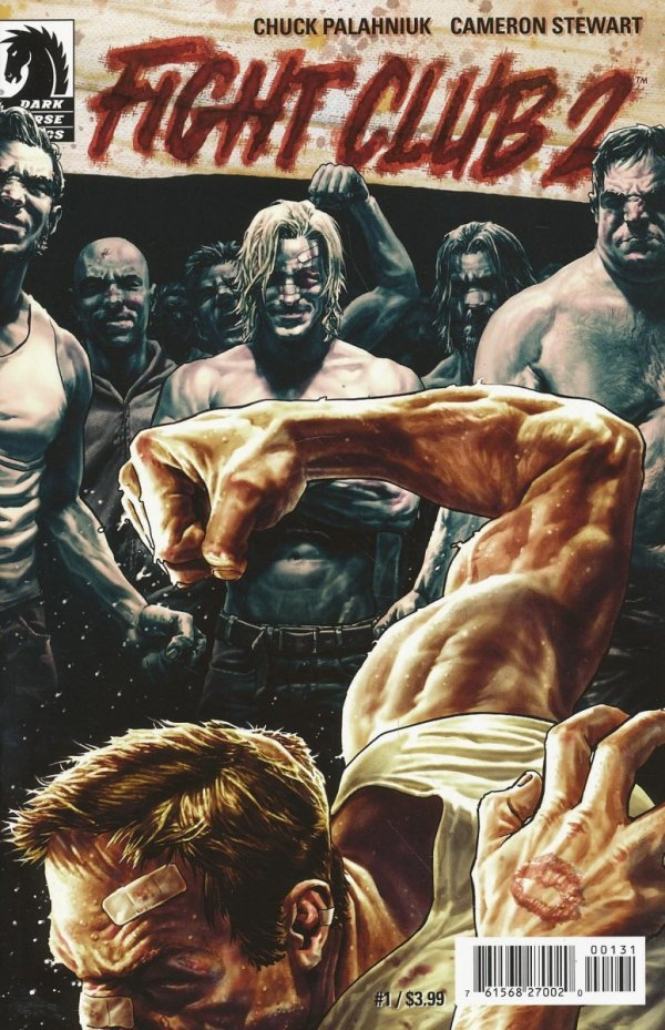 FIGHT CLUB 2 #1 ULTRA RARE VAR