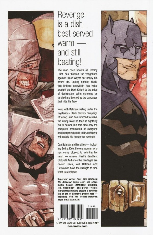 BATMAN HEART OF HUSH SC