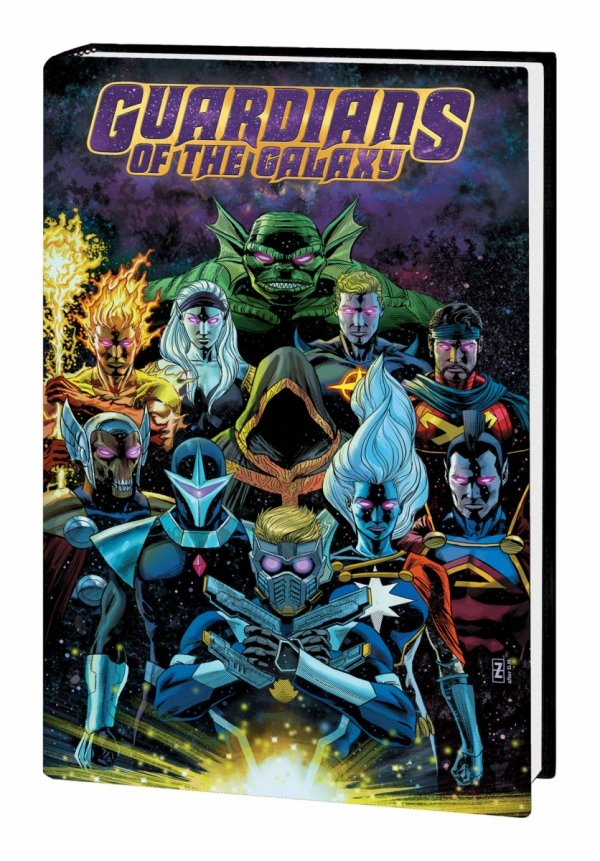 GUARDIANS OF THE GALAXY BY DONNY CATES HC *