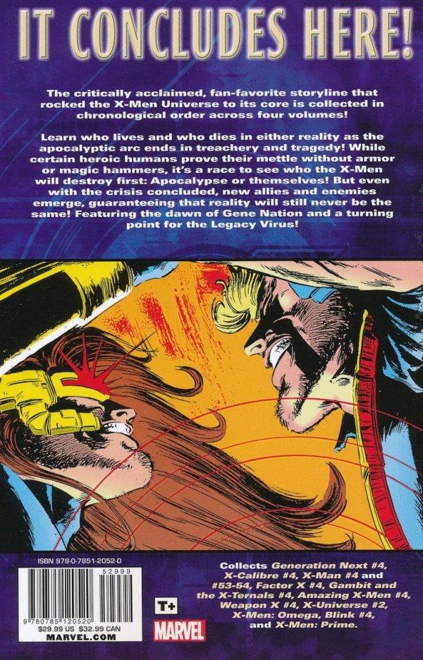 X-MEN THE COMPLETE AGE OF APOCALYPSE EPIC VOL 04 SC