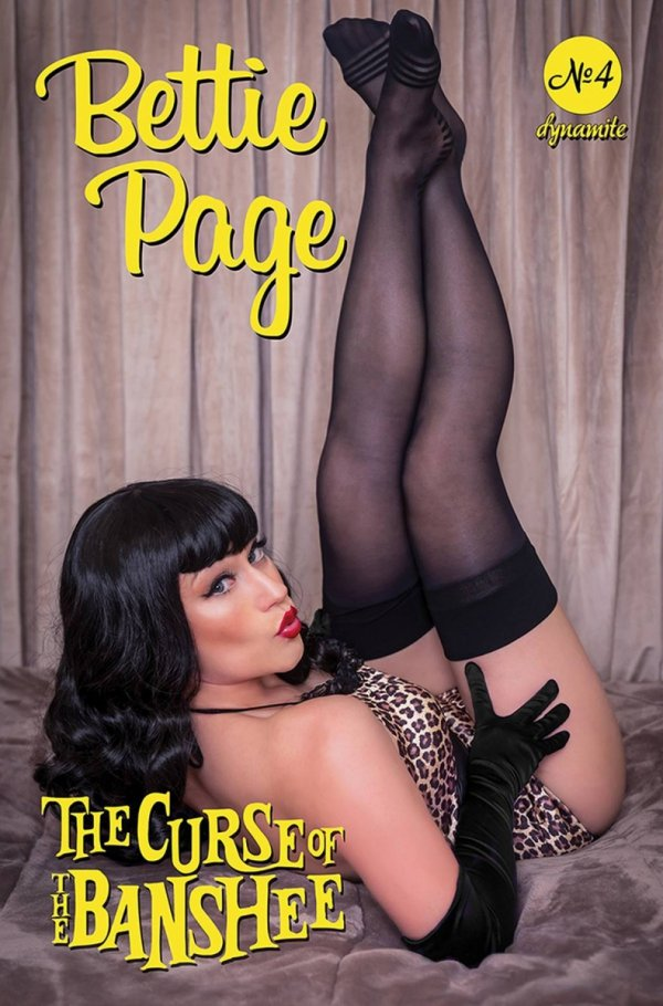 BETTIE PAGE & CURSE OF THE BANSHEE #4 CVR D COSPLAY