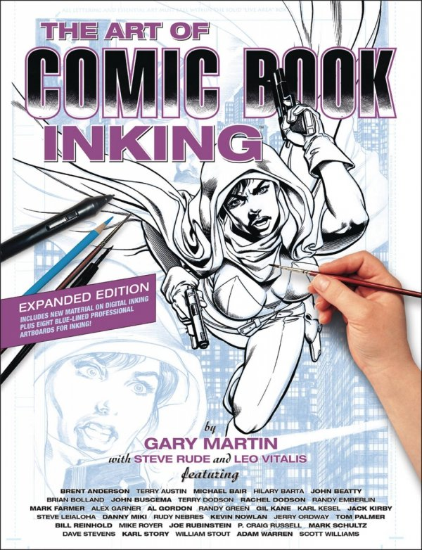 ART OF COMIC BOOK INKING SC (NEW EDITION) *