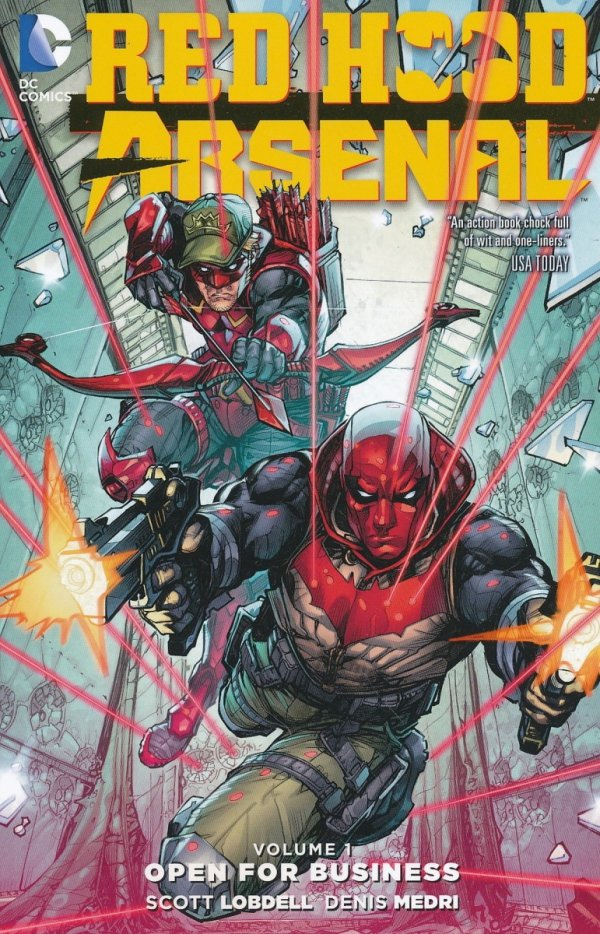 RED HOOD ARSENAL VOL 01 OPEN FOR BUSINESS SC
