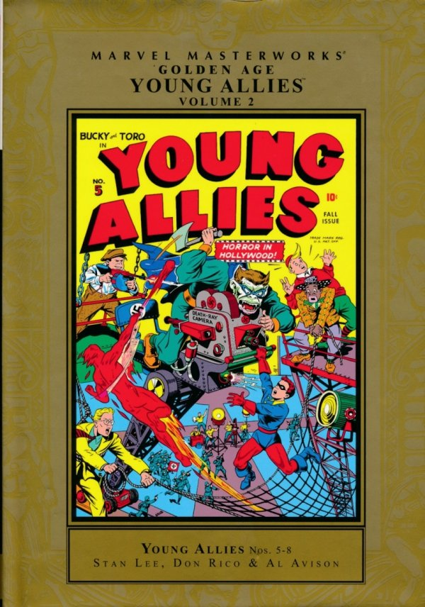 MARVEL MASTERWORKS GOLDEN AGE YOUNG ALLIES VOL 02 HC (STANDARD COVER) (SUPERCENA)