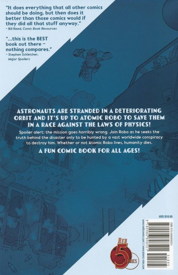 ATOMIC ROBO VOL 06 AND THE GHOST OF STATION X SC