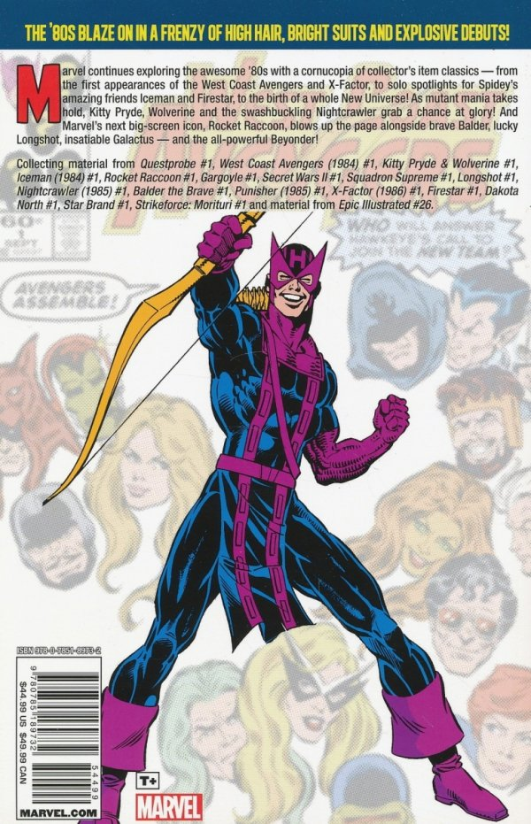 MARVEL FIRSTS THE 1980S VOL 02 SC