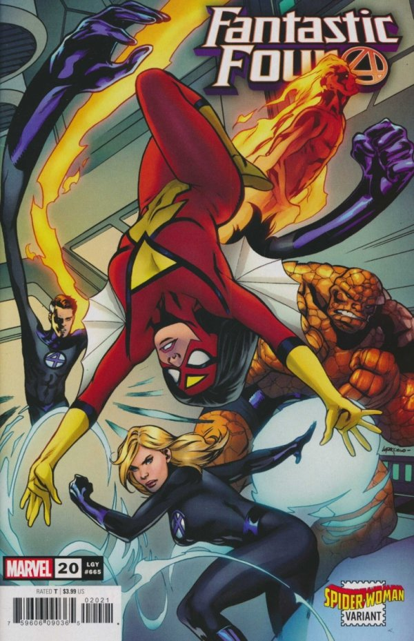 FANTASTIC FOUR #20 LUPACCHINO SPIDER-WOMAN VAR