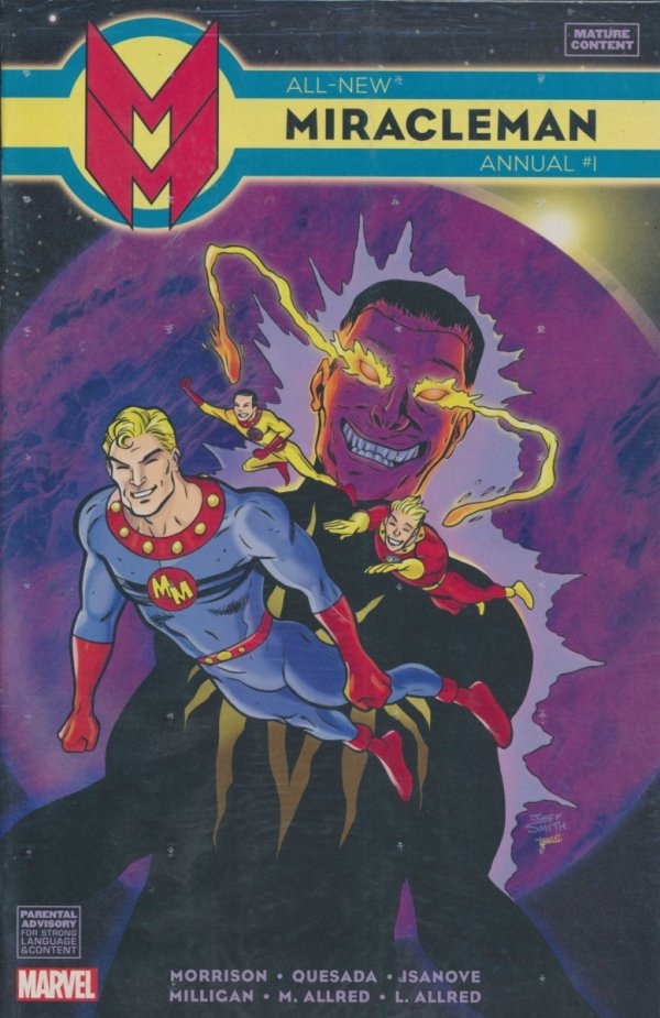 ALL NEW MIRACLEMAN ANNUAL #1 SMITH VAR