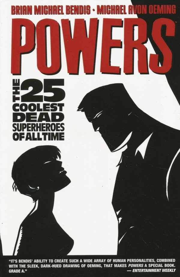 POWERS VOL 12 THE 25 COOLEST DEAD SUPERHEROES OF ALL TIME SC