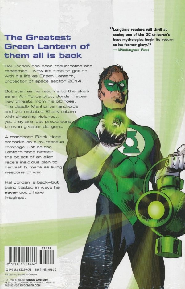GREEN LANTERN NO FEAR HC