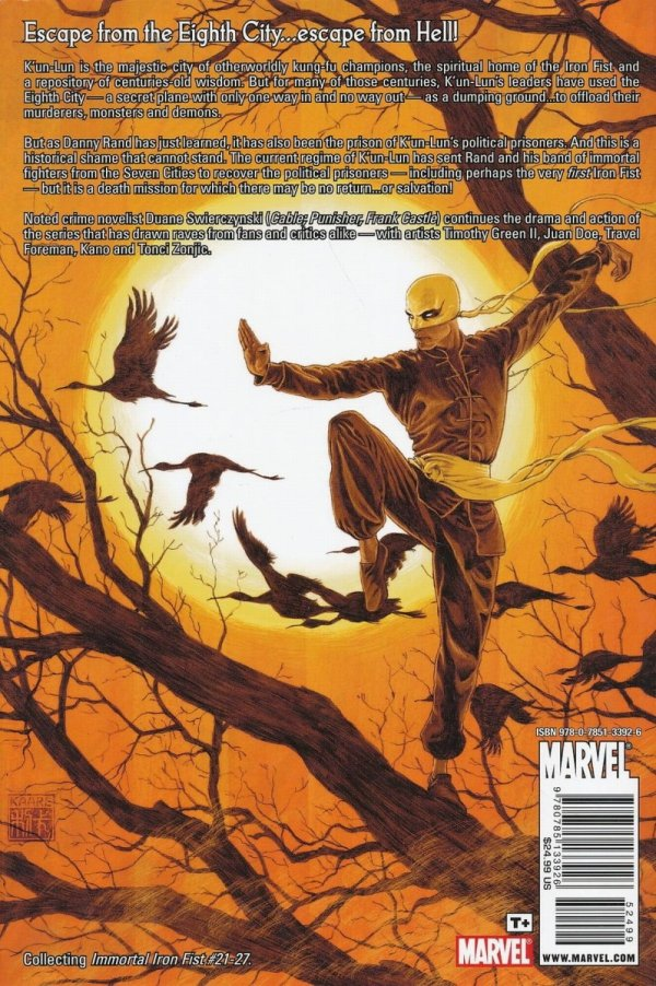 IMMORTAL IRON FIST VOL 05 HC