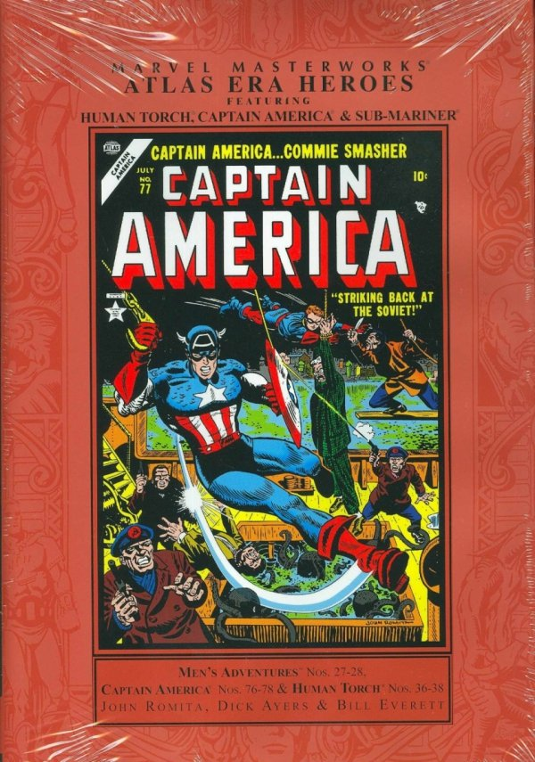 MARVEL MASTERWORKS ATLAS ERA HEROES VOL 02 HC (STANDARD COVER) *