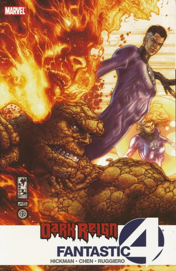 DARK REIGN FANTASTIC FOUR SC