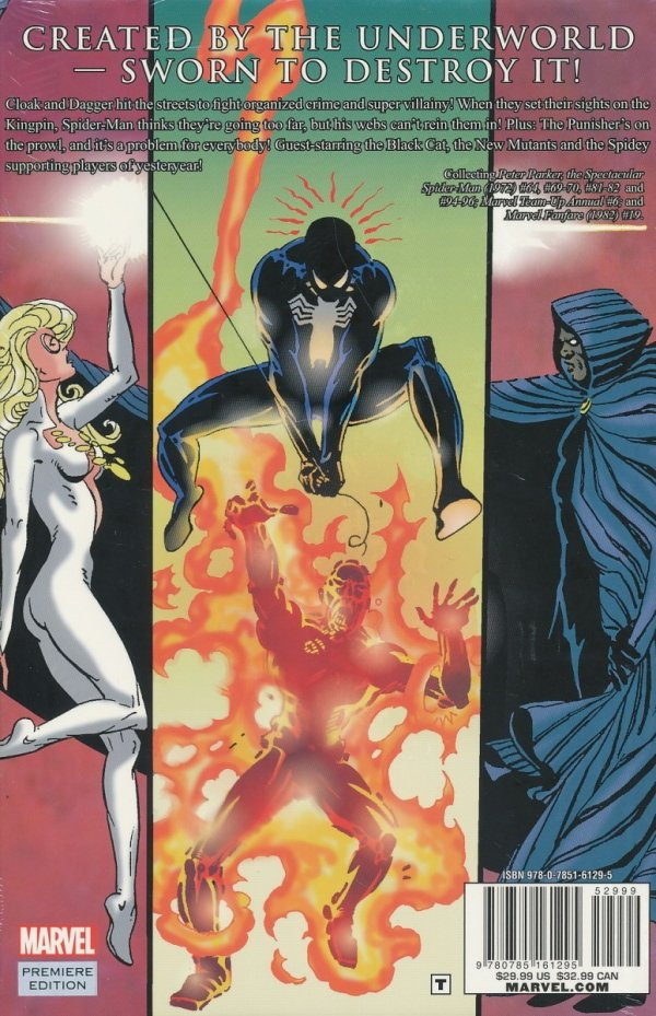 CLOAK AND DAGGER CRIME AND PUNISHMENT HC (STANDARD COVER)