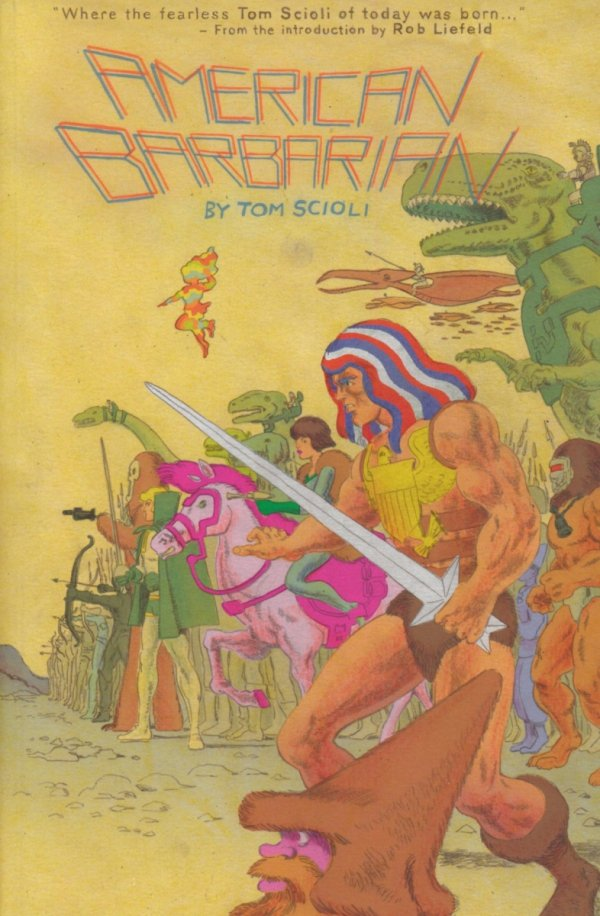 AMERICAN BARBARIAN COMPLETE SERIES TP *
