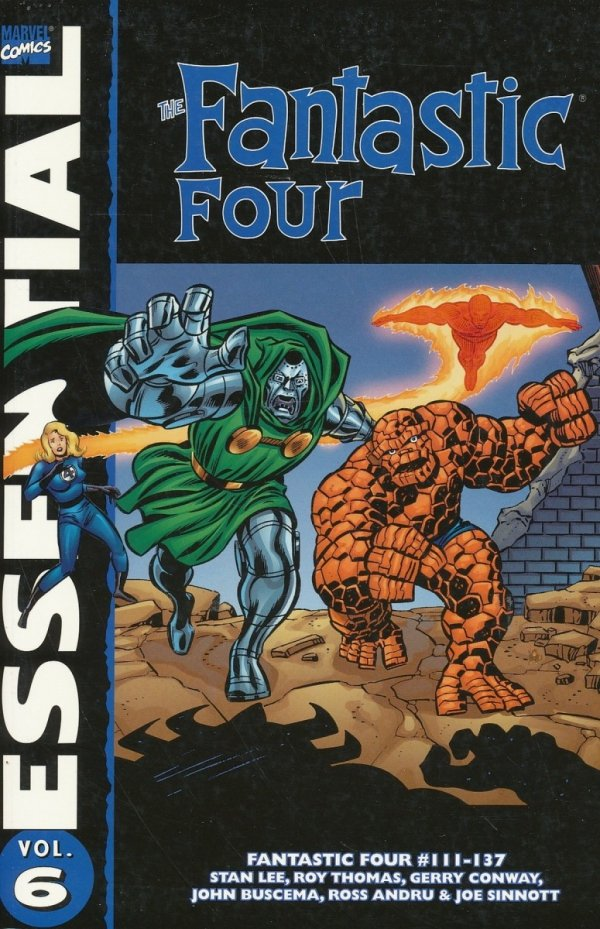 ESSENTIAL THE FANTASTIC FOUR VOL 06 SC (OLD EDITION) *