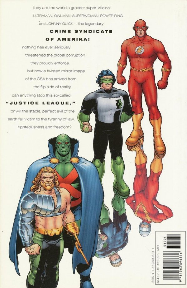JLA EARTH 2 SC (OLD EDITION)
