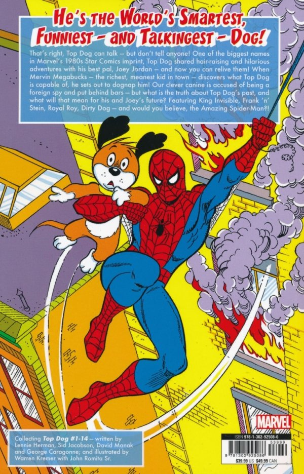 STAR COMICS TOP DOG THE COMPLETE COLLECTION VOL 01 SC