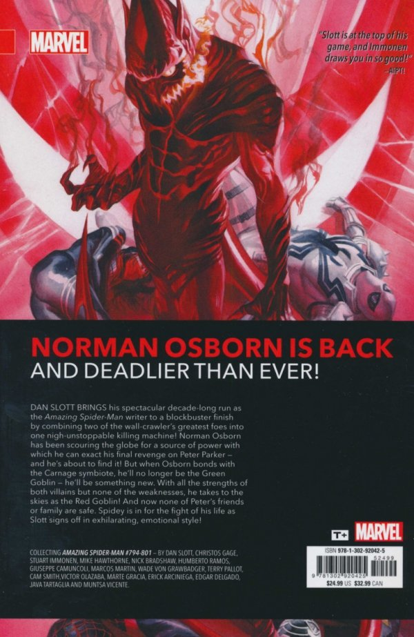 AMAZING SPIDER-MAN RED GOBLIN SC