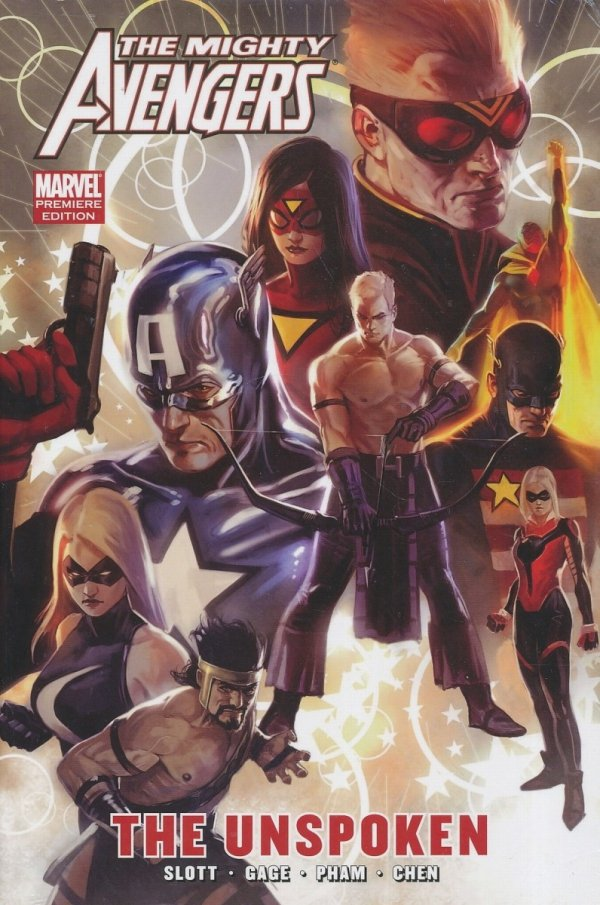 MIGHTY AVENGERS THE UNSPOKEN HC