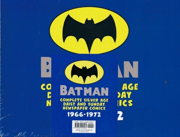 BATMAN COMPLETE SILVER AGE DAILY AND SUNDAY NEWSPAPER COMICS 1966-1972 SC (BOX) (SALEństwo)