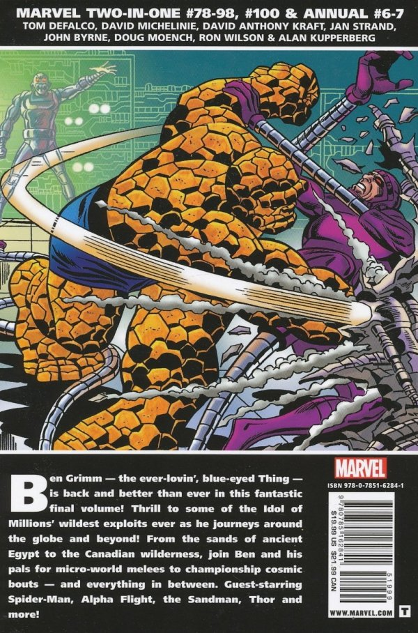 ESSENTIAL MARVEL TWO-IN-ONE VOL 04 SC