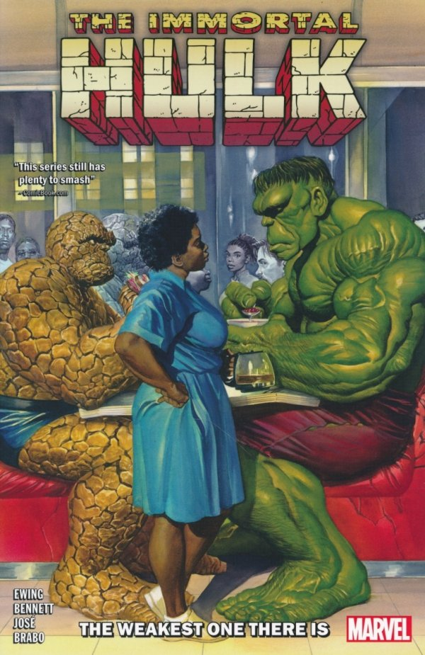 IMMORTAL HULK TP VOL 09 WEAKEST ONE THERE IS