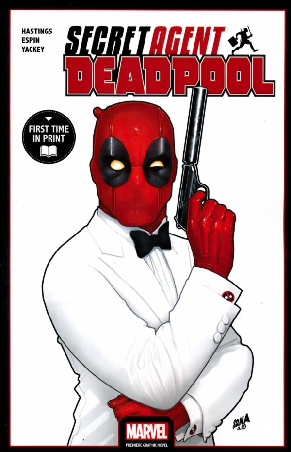 DEADPOOL SECRET AGENT DEADPOOL SC