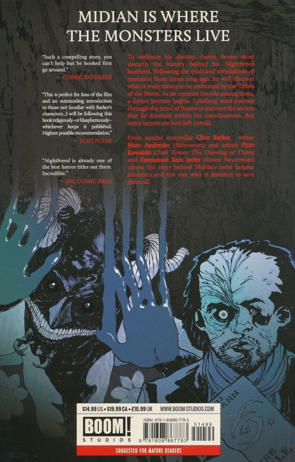 CLIVE BARKERS NIGHTBREED TP VOL 02