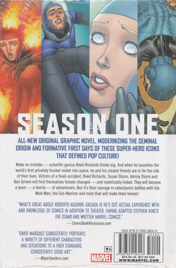 FANTASTIC FOUR SEASON ONE HC