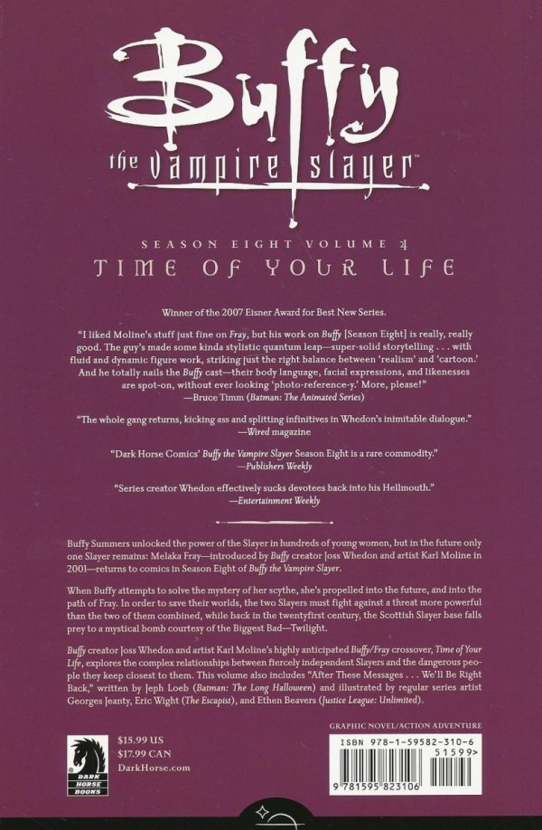 BTVS SEASON 8 TP VOL 04 TIME OF YOUR LIFE